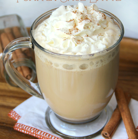 Slow-Cooker Pumpkin Latte Coffee- FamilyFreshMeals.com
