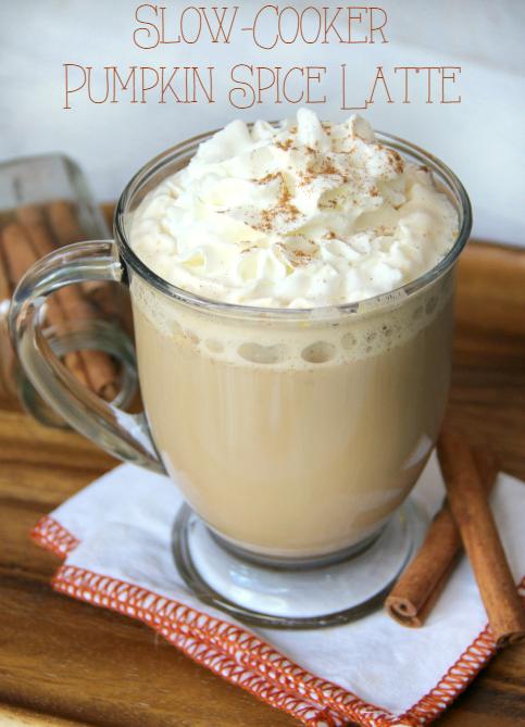 Slow-Cooker Pumpkin Latte Recipe - FamilyFreshMeals.com