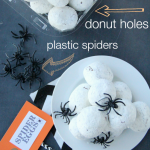 Fun Halloween Food Spider Egg Donuts