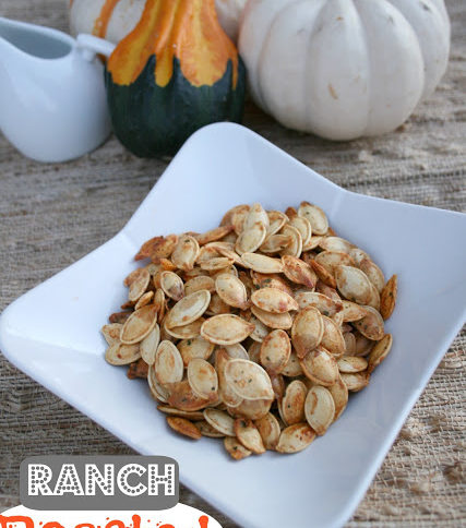 Ranch Roasted Pumpkin Seeds - Family Fresh Meals