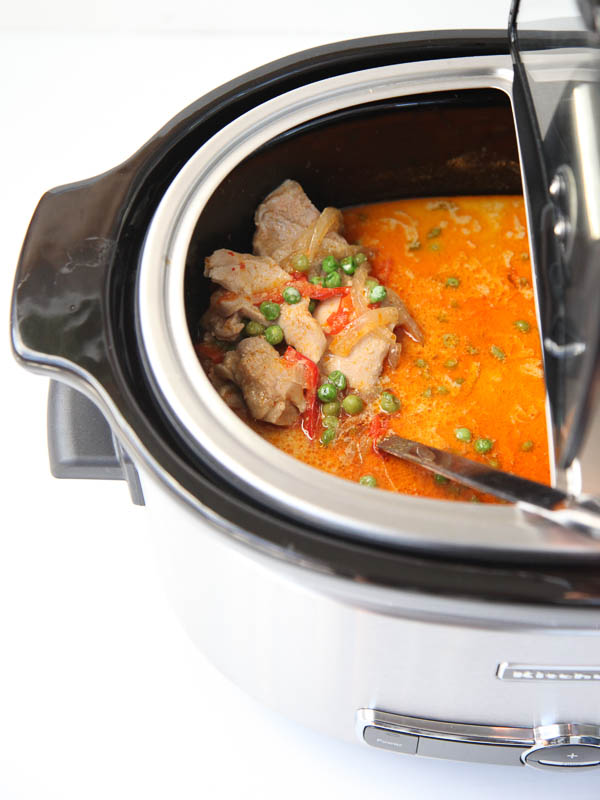 25 Comforting Crockpot Soups - Slow Cooker Thai Chicken Soup