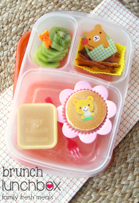 Week 18 School Lunch Box Ideas - Brunch Lunchbox - FamilyFreshMeals.com