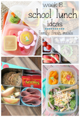 Week 18: School Lunch Box Ideas