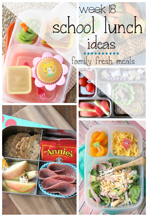 Week 18 School Lunch Box Ideas - FamilyFreshMeals.com