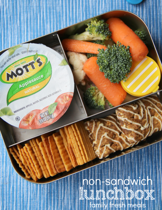 Week 18 School Lunch Box Ideas - non-sandwich lunchbox - familyfreshmeals.com