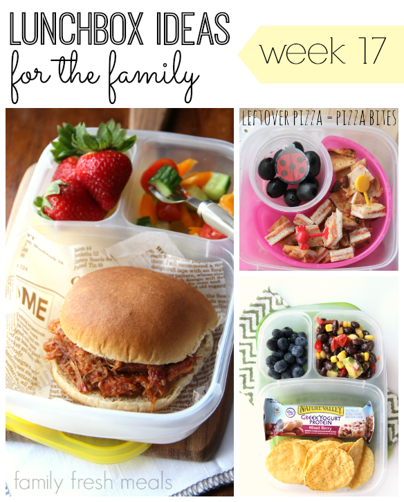 School and Work Lunchbox Ideas - familyfreshmeals.com