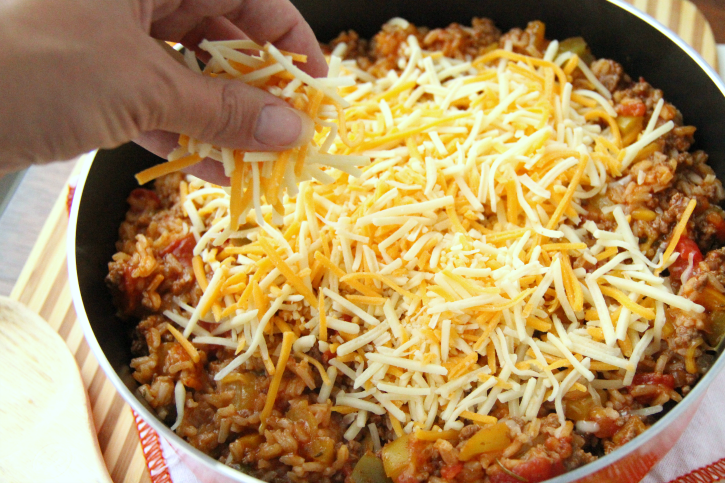 One Pot Stuffed Pepper Casserole - FamilyFreshMeals.com - step 6