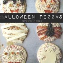 Fun Halloween Pizza Ideas