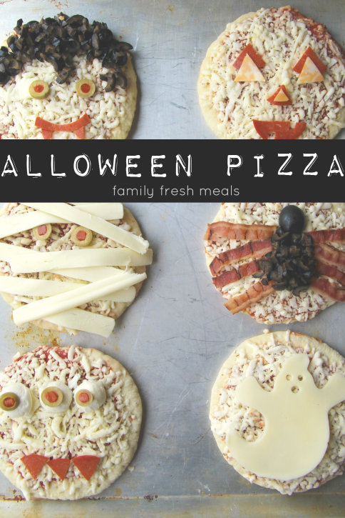 Fun Halloween Pizza Ideas - FamilyFreshMeals.com