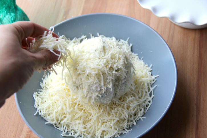 Holiday Ranch Cheese Ball - Step 5