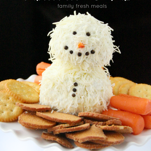 Holiday Ranch Cheese Ball - familyfreshmeals.com