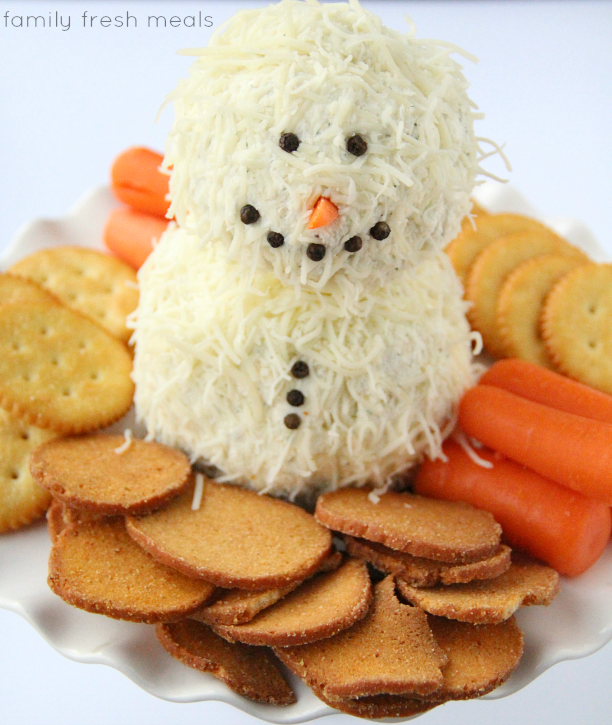 Holiday Ranch Cheese Ball - familyfreshmeals.com ---