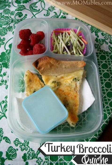 Thanksgiving Leftover Recipes - FamilyFreshMeals.com - Turkey Broccoli Quiche