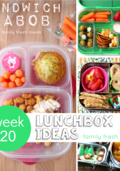 Week 20: Fun Lunchbox Ideas