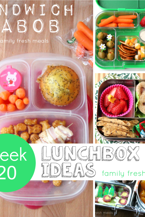 week 20 fun lunchbox ideas - familyfreshmeals.com --