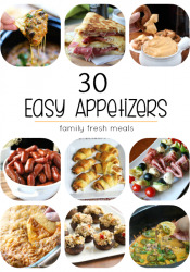 30 Easy Appetizers