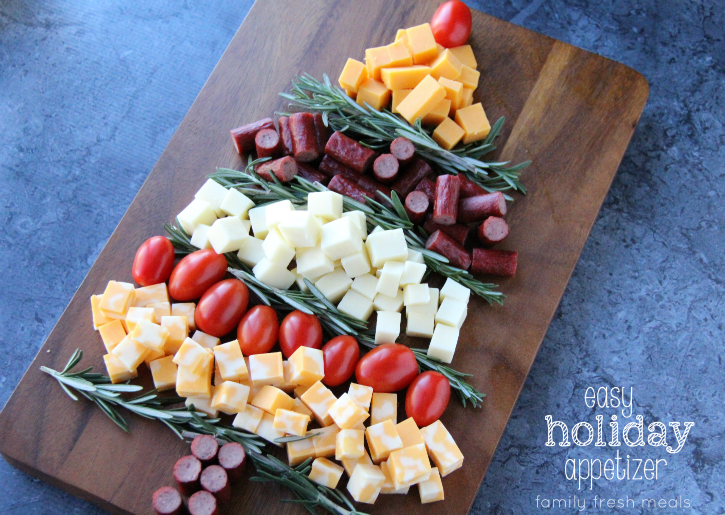 Easy Holiday Appetizer Idea - Family Fresh Meals