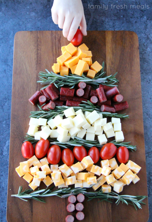 easy holiday appetizer idea step 2