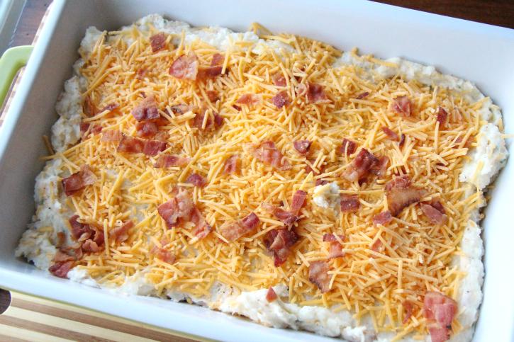Easy Twice Baked Potato Casserole - Family Fresh Meals
