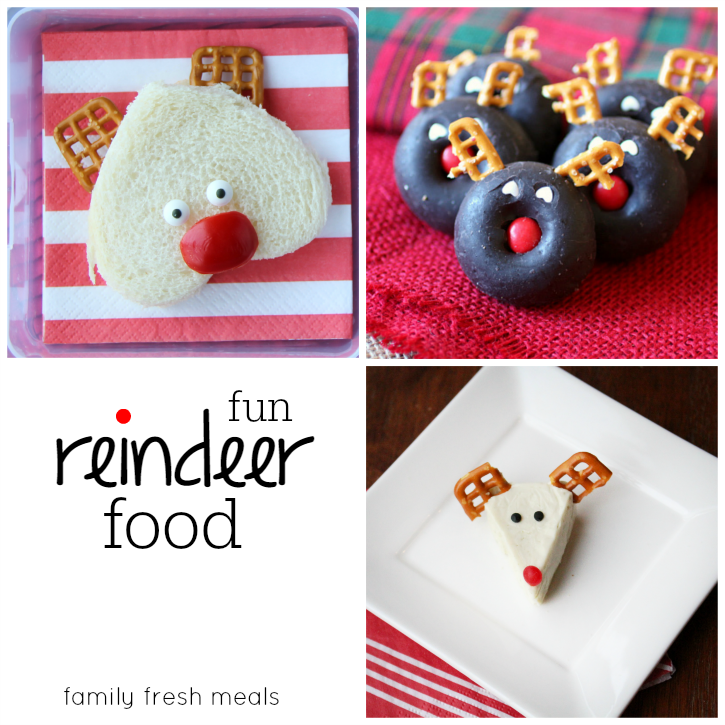 30 Fun Christmas Food Ideas for lunchboxes - familyfreshmeals.com -