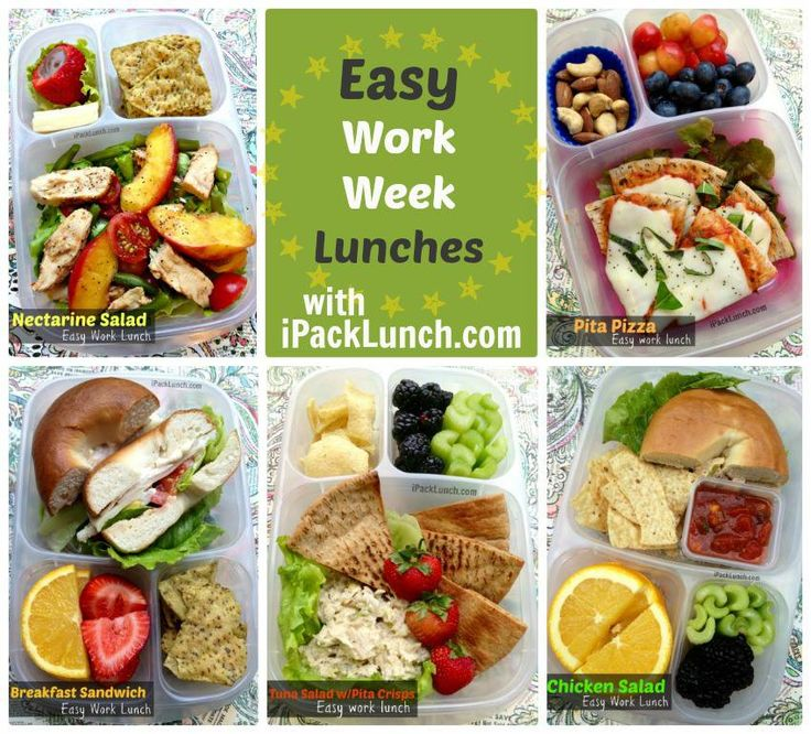 Over 50 healthy work lunchbox ideas family fresh meals 12 easy work lunch ideas via ipacklunch forumfinder Image collections