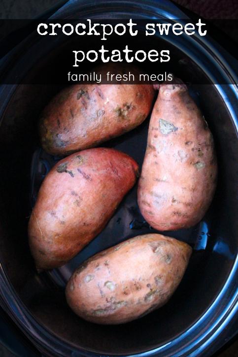 How to make Crockpot Sweet Potatoes - Family Fresh Meals Recipe