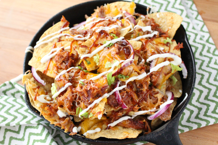 Pulled Pork Nachos | 10 Scrumptious Leftover Pork Recipes For Extended Thanksgiving Celebration