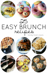 25 EASY BRUNCH RECIPES - Family Fresh Meals -