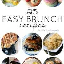 25 Easy Brunch Recipes