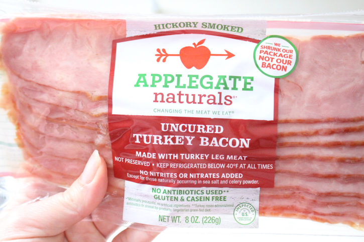 Package of Turkey Bacon
