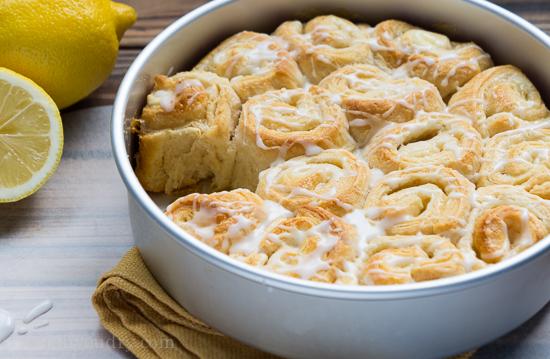 - Lemon Cream Cheese Pinwheels