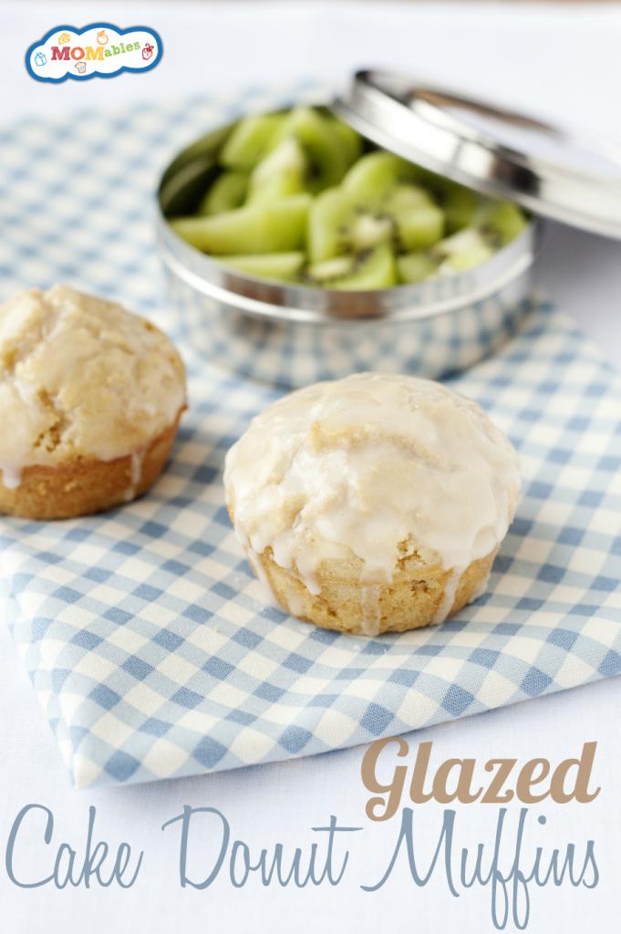 Glazed Cake Donut Muffins