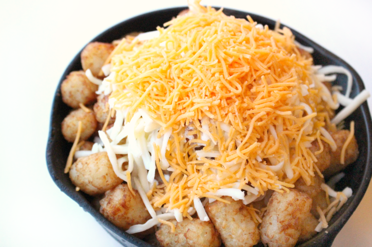 Loaded Cheesy Tater Tots - Step 2