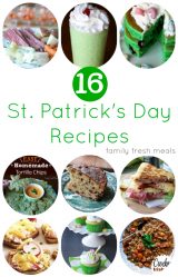 Must Try St Patrick's Day Recipes - FamilyFreshMeals.com --