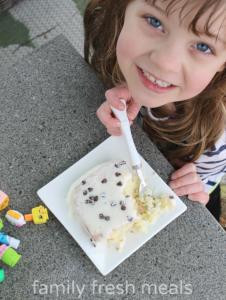 Cannoli Poke Cake - Enjoy! Family Fresh Meals