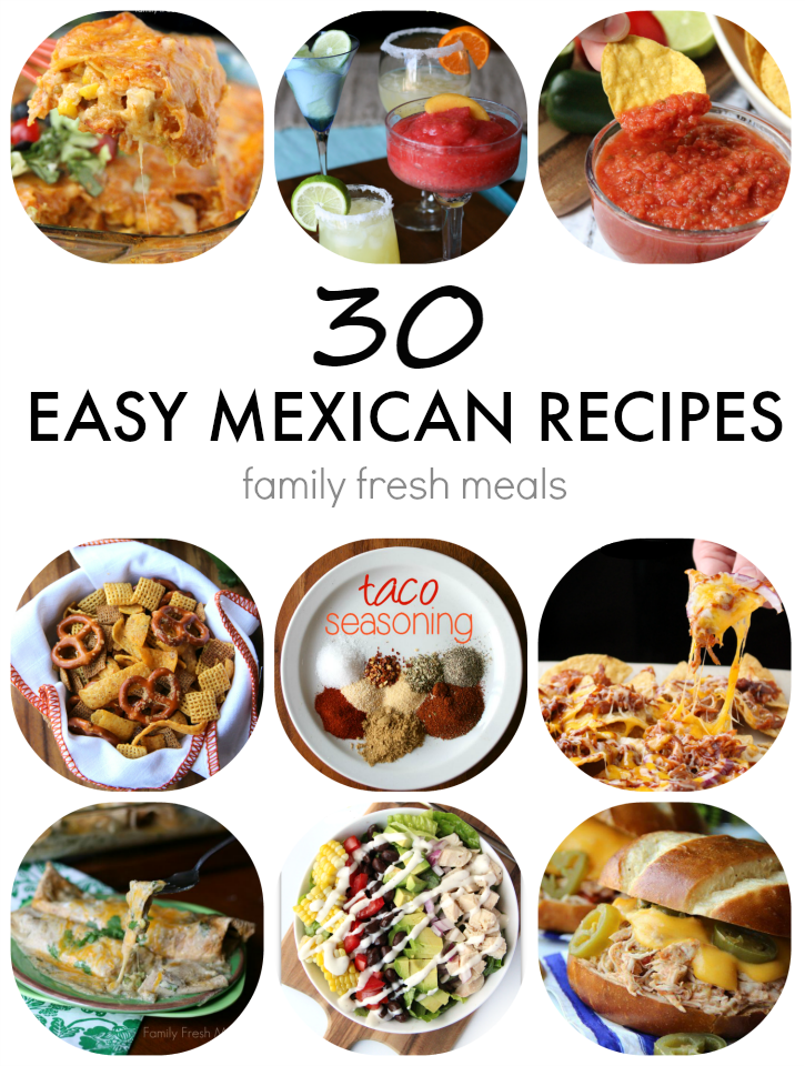 Authentic Mexican Food Recipes Hispanic Kitchen