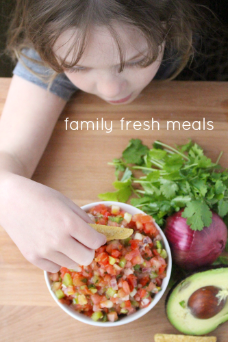 Pico de Gallo Fresh Salsa Recipe - FamilyFreshMeals.com -