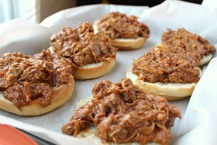 Baked BBQ Pork Sandwiches - Step 1