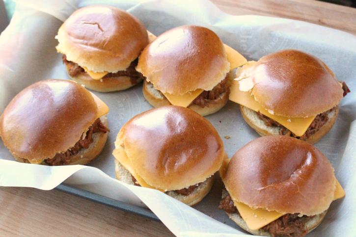 Baked BBQ Pork Sandwiches - Step 3