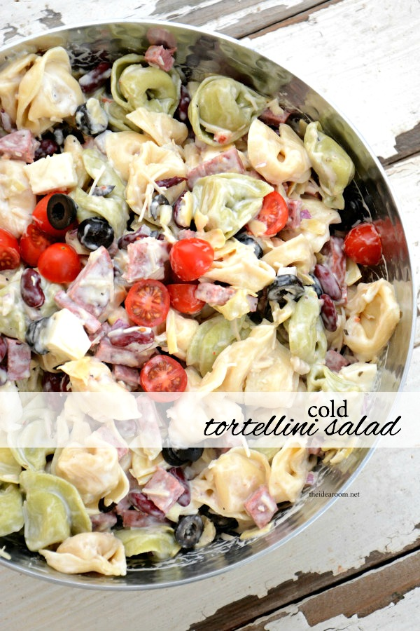 The Best Summertime BBQ Recipes - Cold Tortellini Salad