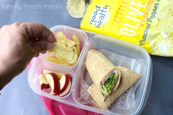On the Go Snack Lunches - Cracked Pepper Chips