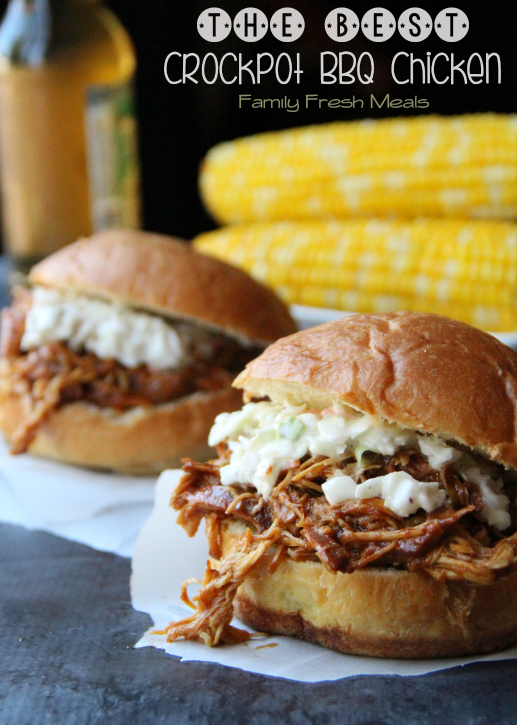 The Best Summertime BBQ Recipes - The Best Crockpot BBQ Chicken