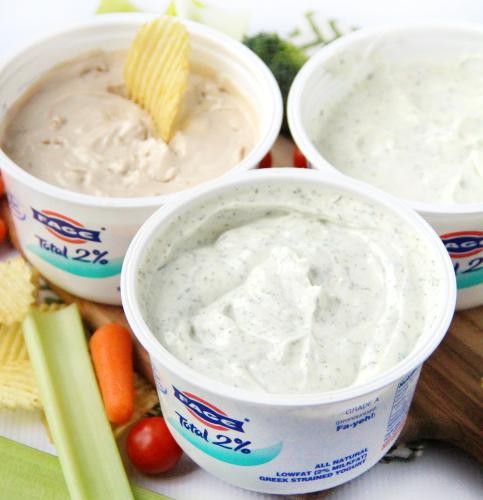 Easy Greek Yogurt Dip - 9 Ways!
