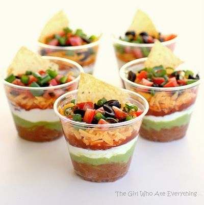 the girl who ate everything - taco cups