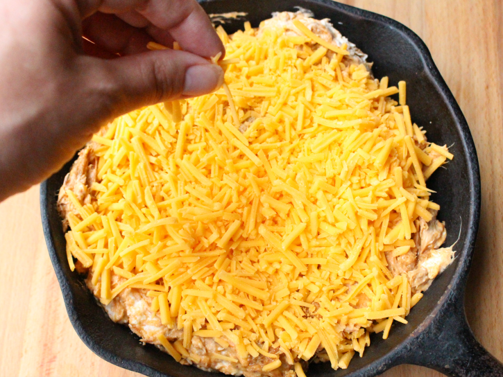 Cheesy BBQ Pulled Pork Dip - Step 3