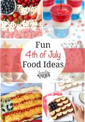 Fun 4th of July Food Ideas