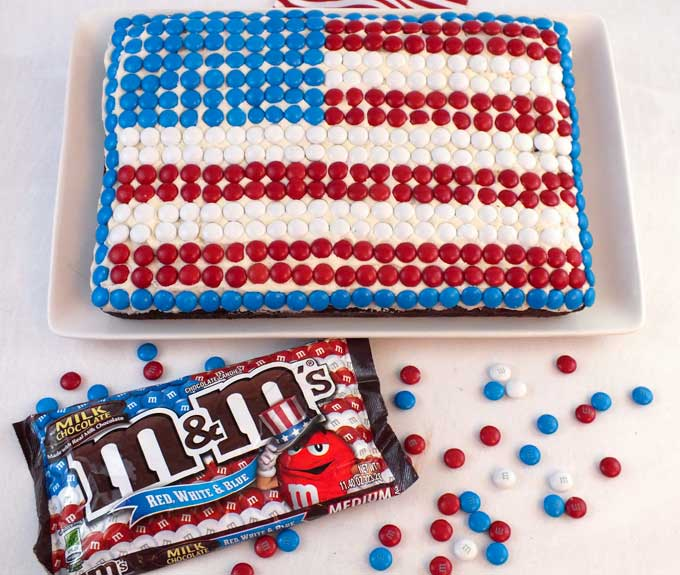 Fun 4th of july food ideas family fresh meals for American flag cake decoration