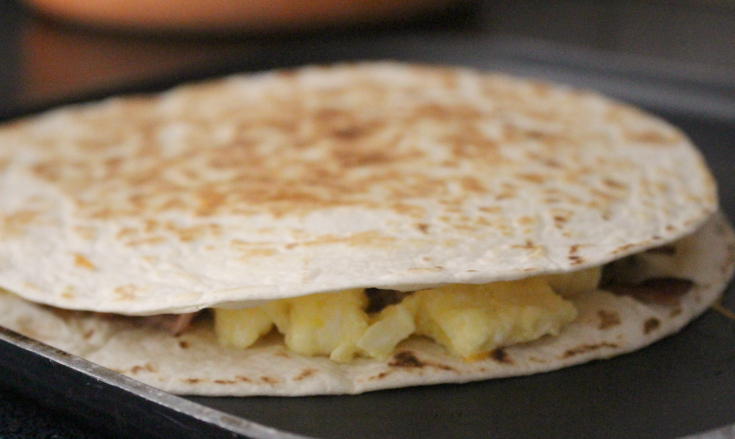 Freezer Breakfast Quesadillas - 4 Ways