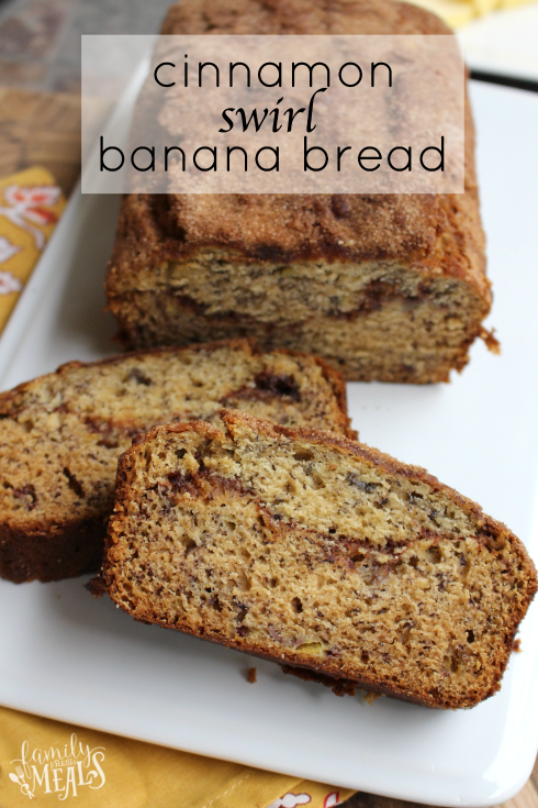 Cinnamon swirl banana bread family fresh meals cinnamon swirl banana bread familyfreshmeals forumfinder Gallery