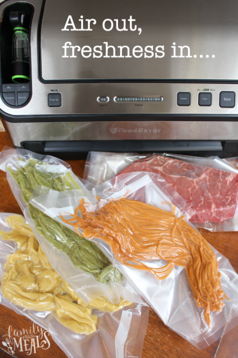 How to keep food fresh longer - With FoodSaver - Familyfreshmeals.com